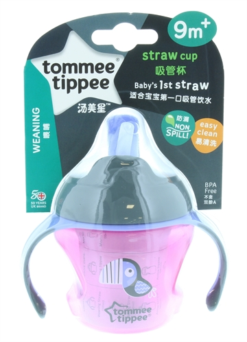 Tommee Tippee First Straw Cup Girl