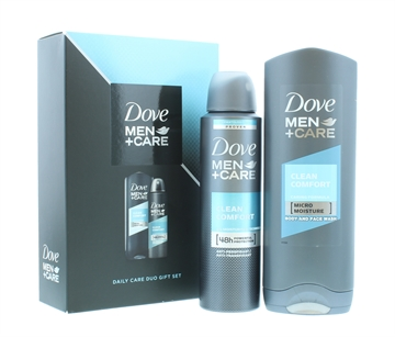 DOVE DUO GIFT SET 2PC + MEN CARE