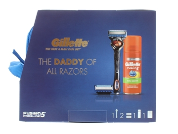 GILLETTE FUSION 4PC PROGLIDE
