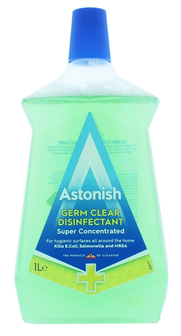 Astonish 1L Germ Clear Disinfectant Super Concentrated