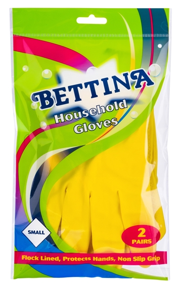 Bettina Hushållshandskar Small 2-Pack