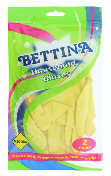 Bettina Hushållshandskar Medium 2-Pack