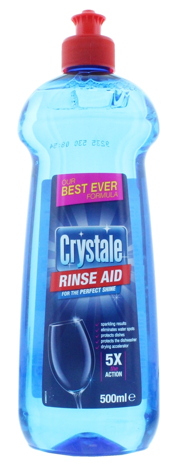 Crystale 500ml Dishwasher Rinse Aid