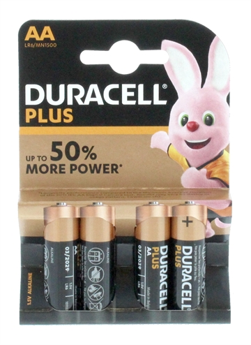 Duracell Aa Plus Power 4'S