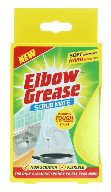 Elbow Grease Scrub Mate 1Pack