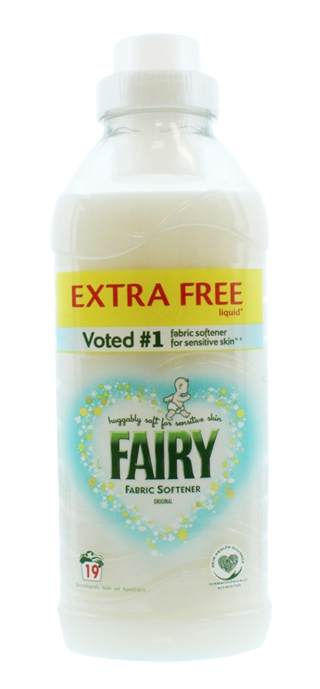 FAIRY FABRIC CONDITIONER ORIGINAL 19 WASH 665ML
