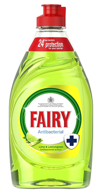 Fairy 383ml Washing Up Liquid Lemongrass