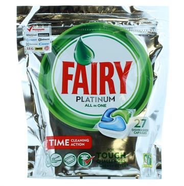 Fairy Plat Dish Wash Tabs Original 27S