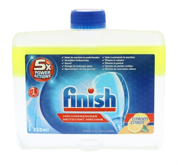 Finish 250ml Dishwasher Cleaner Lemon