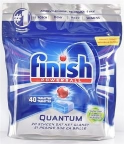 Finish Powerball Quantum Dishwasher Tabs 40's