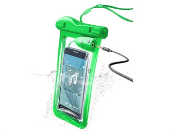 "Waterproof ""Voyager"" cover for smartphones, Green"