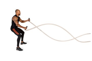 Crossfit battle rope