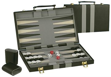 Backgammon i en väska
