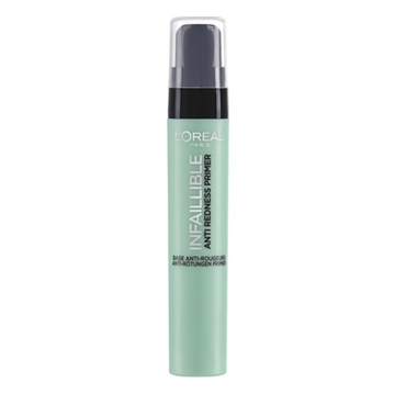 L'Oreal Paris Make-Up Designer Infaillible The Primers - 02 Anti-Redness - Primer sminkbas för ansiktet