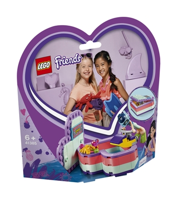 LEGO Friends 41385 Emma's Summer Heart Box