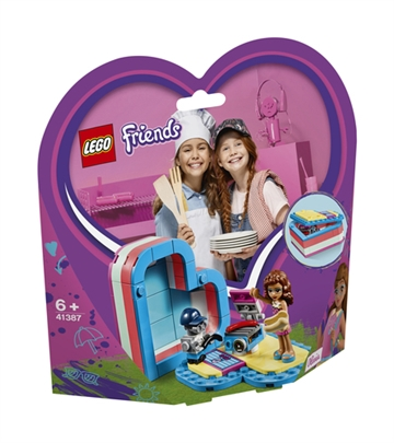 LEGO Friends 41387 Olivia's Summer Heart Box