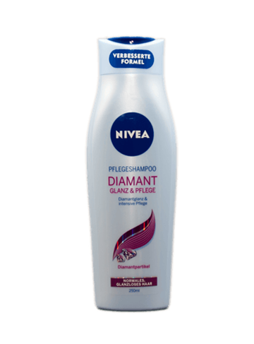 Nivea Diamond Gloss shampo 250 ml.