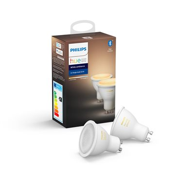 Philips Hue White ambiance 2-pack GU10