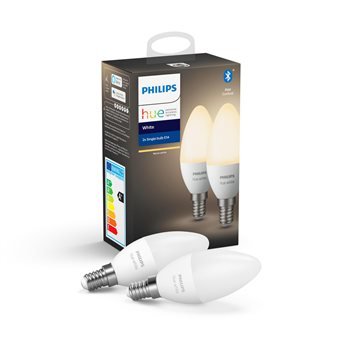 Philips Hue White 2-pack E14