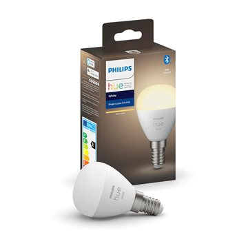 Philips Hue White 1-pack klotlampa P45 E14