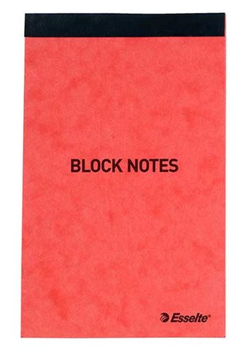 Esselte Block Notes 130x80mm anteckningsböcker 50 ark