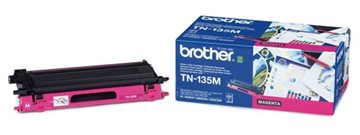 Brother TN-135M Magenta Lasertoner, 4.000 sider