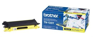 Brother TN-135Y Gul Lasertoner, 4.000 sider