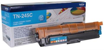 Brother TN245C Cyan Lasertoner, 2.200 sider