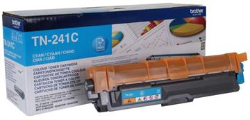 Brother TN241C Cyan Lasertoner, 1.400 sider