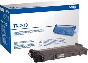Brother TN-2310 Svart Lasertoner, 1.200 sider