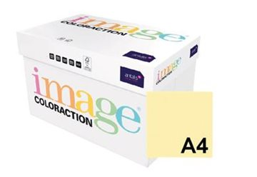 Image ColorAction 1237876 datapapper A4 (210x297 mm) Gul