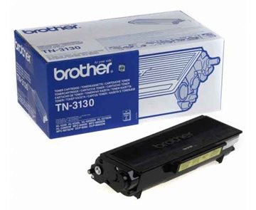 Brother TN-3130 Svart Lasertoner, 3.500 sider