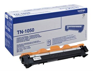 Brother TN-1050 Svart Lasertoner, 1.000 sider