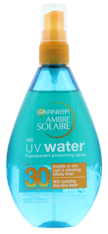 Ambre Solaire 150ml Uv Water Transparent Spray Spf 30