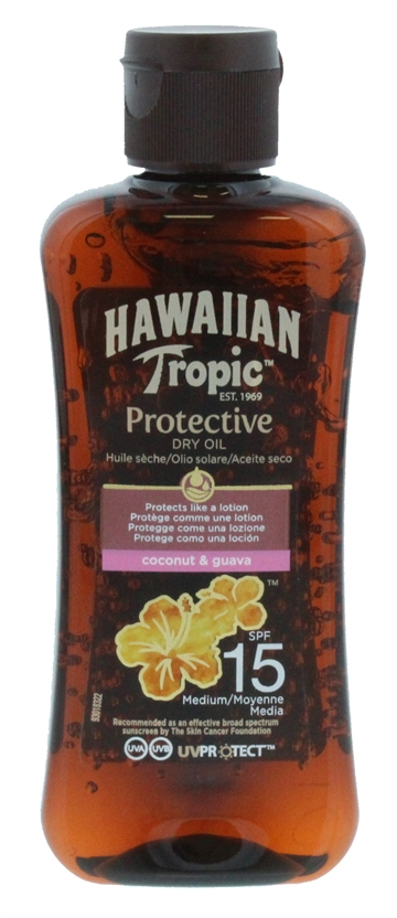 HAWAIIAN TROPIC PROTECT OIL SPF15 100ML