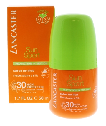 LANCASTER FLUID ROLL ON SPF30 50ML SPORT