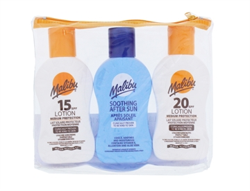 MALIBU SPF15&20,100ML AFTERSUN TAN MAXIMIZER 100ML 3PK