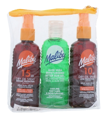 MALIBU SPRAY&100ML AFTERSUN TAN MAXIMIZER (2X100ML 3PK)