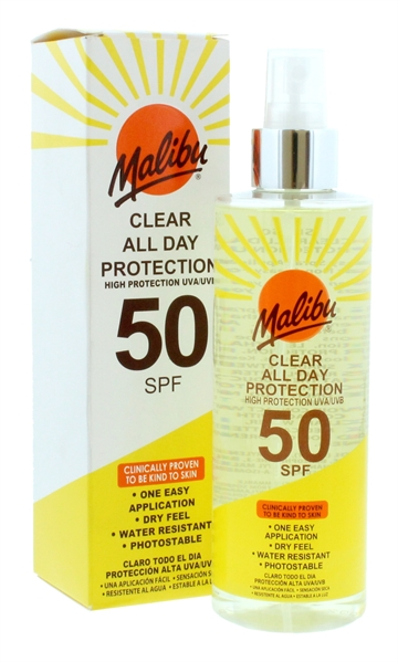 MALIBU SPF50 ALL DAY PROTECTION 250ML