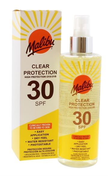 MALIBU SPF30 CLEAR PROTECT  250ML