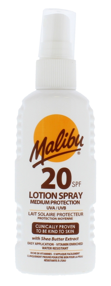 MALIBU SPF20 LOTION SPRAY 100ML
