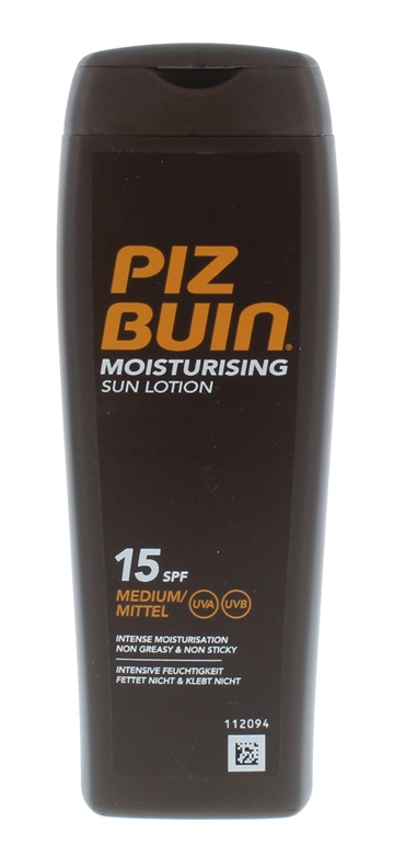 PIZ BUIN IN SUN MOISTURE LOTION SPF15 200ML