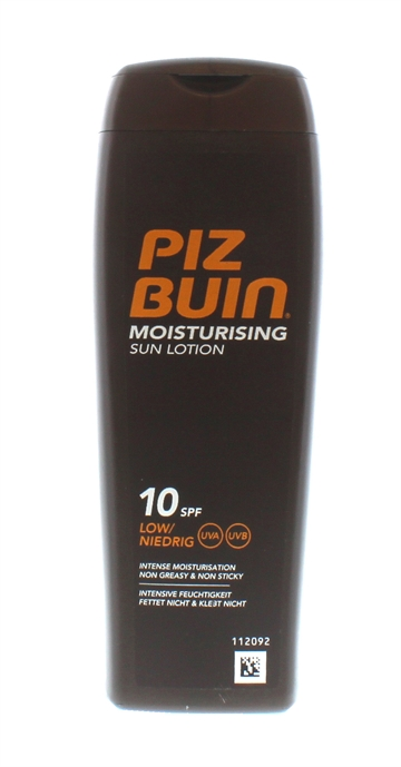 PIZ BUIN IN SUN MOISTURE LOTION SPF10 200ML