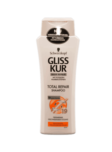 Schwarzkopf Gliss Kur Total Repair Shampo  2x250 ml.