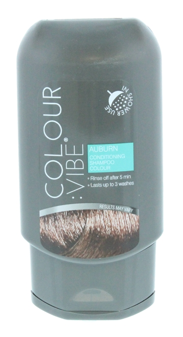 Colour Vibe 100ml Shampoo In Colour Auburn