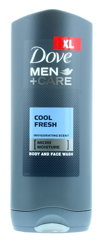 Dove Men+ 400ml Shower Gel Cool Fresh