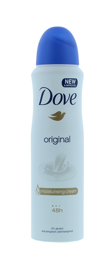 Dove 150ml Antiperspirant Spray Original