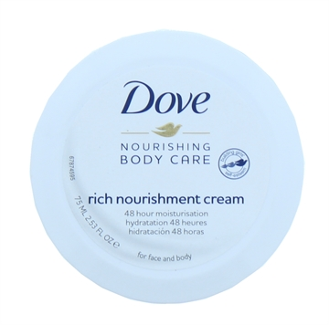 DOVE 75ML RICH NOURISHMENT BEAUTY CREAM