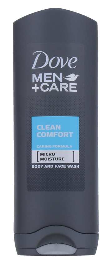 DOVE SHOWER GEL CLEAN COMFORT MEN 250ML