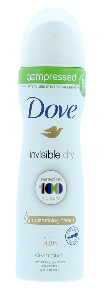 Dove 75ml Comp Apd Invisible